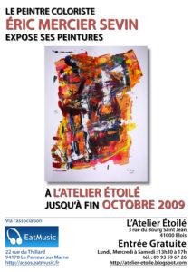 Éric MERCIER SEVIN expose à Blois